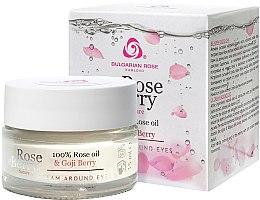 Düfte, Parfümerie und Kosmetik Augenkonturcreme - Bulgarian Rose Rose Berry Nature Cream Around Eyes