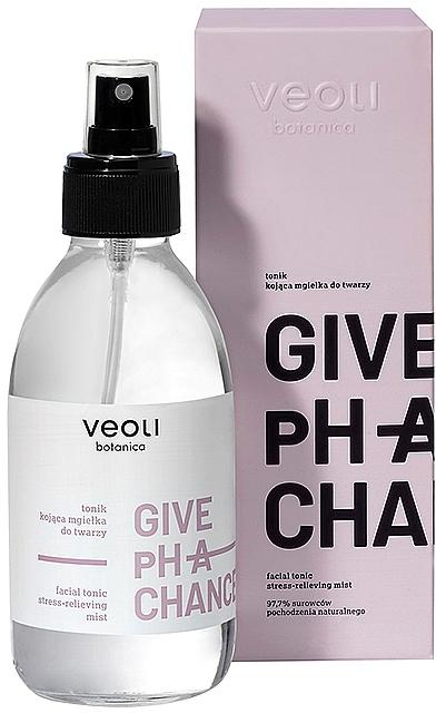 Beruhigendes Gesichtstonikum mit Gurken- und Kamillenextrakten - Veoli Botanica Facial Tonic Stress-relieving Mist Give Ph A Chance