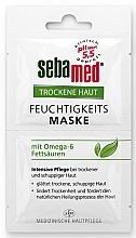 Düfte, Parfümerie und Kosmetik Feuchtigkeitsspendende Gesichtsmaske mit Omega-6 Fettsäuren - Sebamed Trockene Haut Moisture Omega 6 Mask