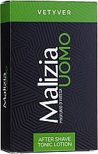 Düfte, Parfümerie und Kosmetik After Shave Lotion - Malizia Uomo Vetyver Tonic Lotion