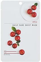 Düfte, Parfümerie und Kosmetik Tuchmaske für das Gesicht mit Apfelextrakt - Eunyu Daily Care Sheet Mask Shea Apple