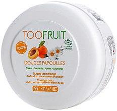 Düfte, Parfümerie und Kosmetik Massagebalsam für Kinder mit Aprikose und Kamille - TOOFRUIT Apricot Chamomile Massage Balm