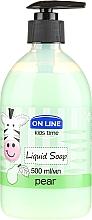 Düfte, Parfümerie und Kosmetik Flüssigseife Birne - On Line Kids Time Liquid Soap Pear