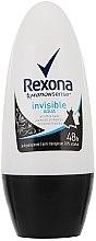 "Düfte, Parfümerie und Kosmetik Deo Roll-on Antitranspirant ""Invisible Aqua"" - Rexona Deodorant Roll"