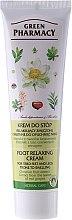 Düfte, Parfümerie und Kosmetik Entspannende Creme gegen müde und geschwollene Füße und Beine - Green Pharmacy