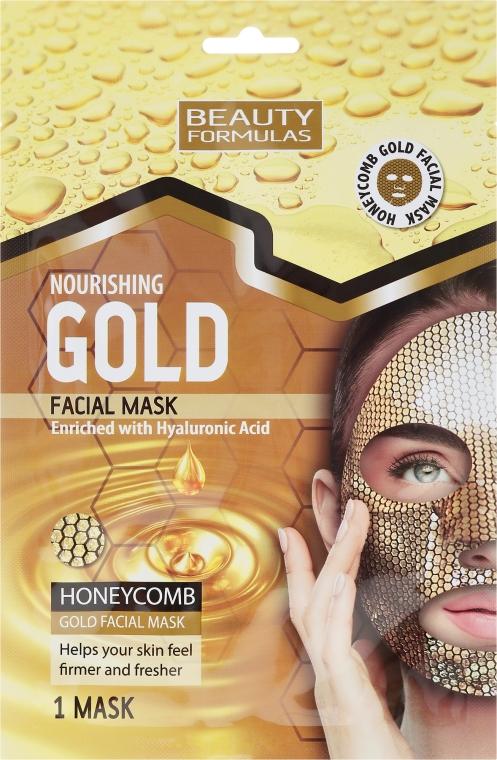 Pflegende Gesichtsmaske - Beauty Formulas Gold Norishing Facial Mask