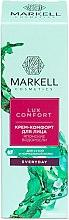 Düfte, Parfümerie und Kosmetik Beruhigende Tagescreme mit japanischen Algen - Markell Cosmetics Lux-Comfort