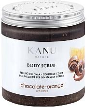 Düfte, Parfümerie und Kosmetik Peeling do ciała Pomarańcza i czekolada - Kanu Nature Body Scrub