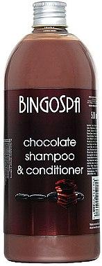 2in1 Schokoladenshampoo- und Spülung - BingoSpa Chocolate Shampoo-Conditioner