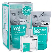 Düfte, Parfümerie und Kosmetik Mexx Look Up Now for Him - Duftset (Eau de Toilette 50ml + Duschgel 150ml)