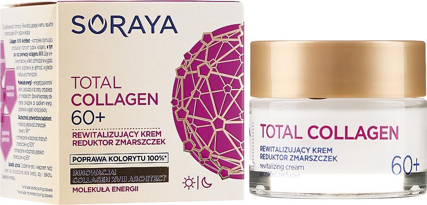 Regenerierende Anti-Falten Tages- und Nachtcreme 60+ - Soraya Total Collagen 60+