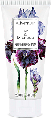 Parfümierter Körperbalsam Iris & Patchouli - Allverne Iris & Patchouli