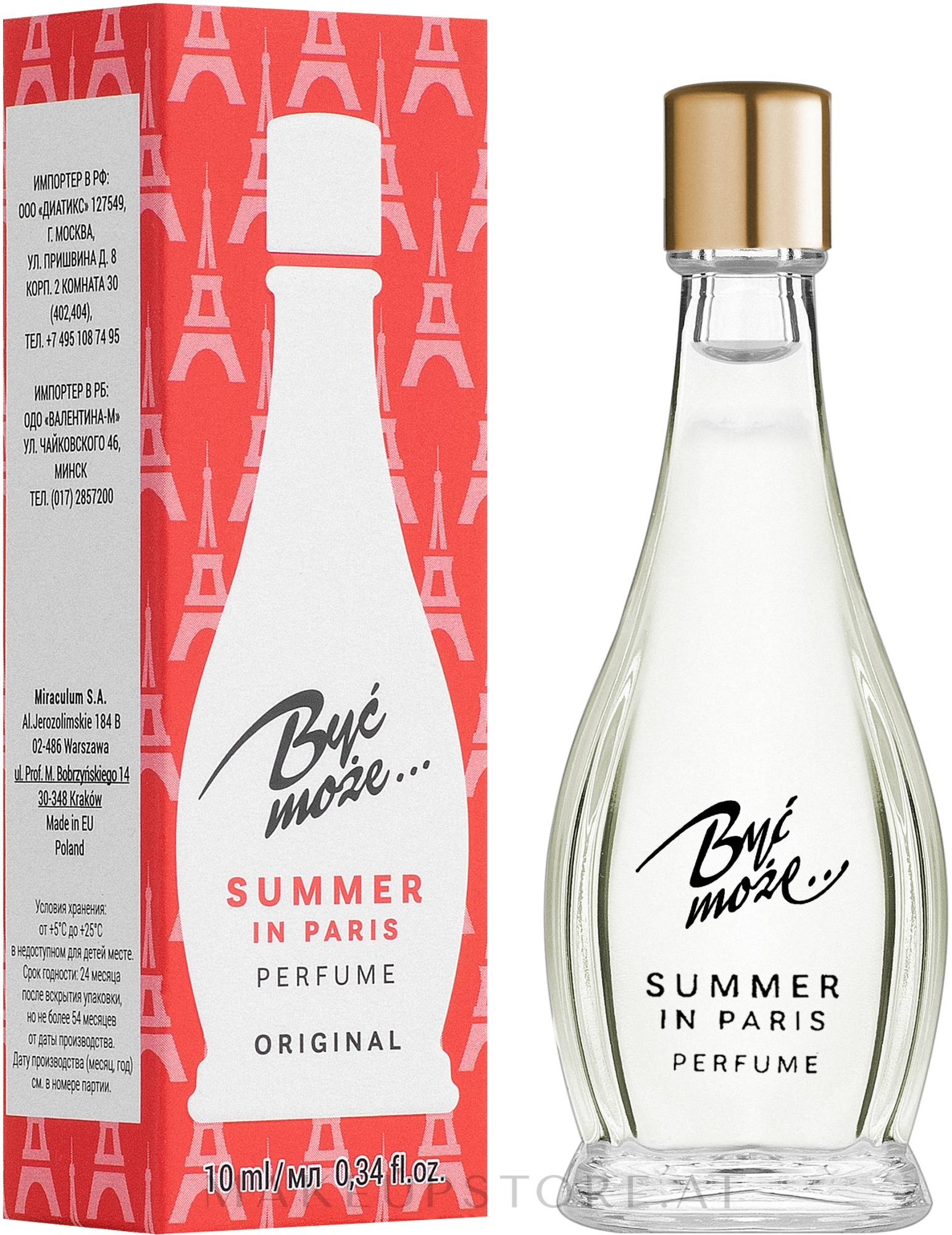 Miraculum Być może Summer in Paris - Parfum — Bild 10 ml