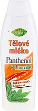 Düfte, Parfümerie und Kosmetik Körperlotion mit Panthenol und Hanf - Bione Cosmetics Pantenol + Cannabis Body Lotion