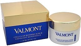 Düfte, Parfümerie und Kosmetik Regenerierendes Creme-Peeling für das Gesicht - Valmont Cellular Refining Scrub