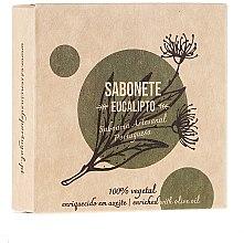 Düfte, Parfümerie und Kosmetik Naturseife Eucalyptus - Essencias De Portugal Eucalyptus Soap Senses Collection