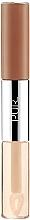 Düfte, Parfümerie und Kosmetik 4in1 matter Lippenstift und Lippenöl - Pur 4-in-1 Lip Duo Dual-Ended Matte Lipstick & Lip Oil