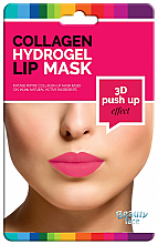 Düfte, Parfümerie und Kosmetik Kollagen-Hydrogel-Lippenmaske mit Push-up-Effekt - Beauty Face 3D Push-Up Collagen Hydrogel Lip Mask