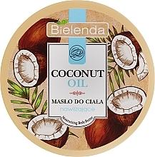 Düfte, Parfümerie und Kosmetik Feuchtigkeitsspendende Körperbutter mit Kokosnussöl - Bielenda Coconut Oil Moisturizing Body Butter