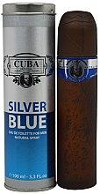 Düfte, Parfümerie und Kosmetik Cuba Silver Blue - Eau de Toilette