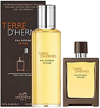 Düfte, Parfümerie und Kosmetik Hermes Terre D'Hermes Eau Intense Vetiver - Duftset (Eau de Parfum 30ml + Eau de Parfum 125ml)