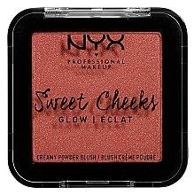 Düfte, Parfümerie und Kosmetik Glänzendes Puder-Rouge - NYX Professional Makeup Sweet Cheeks Glow Blush