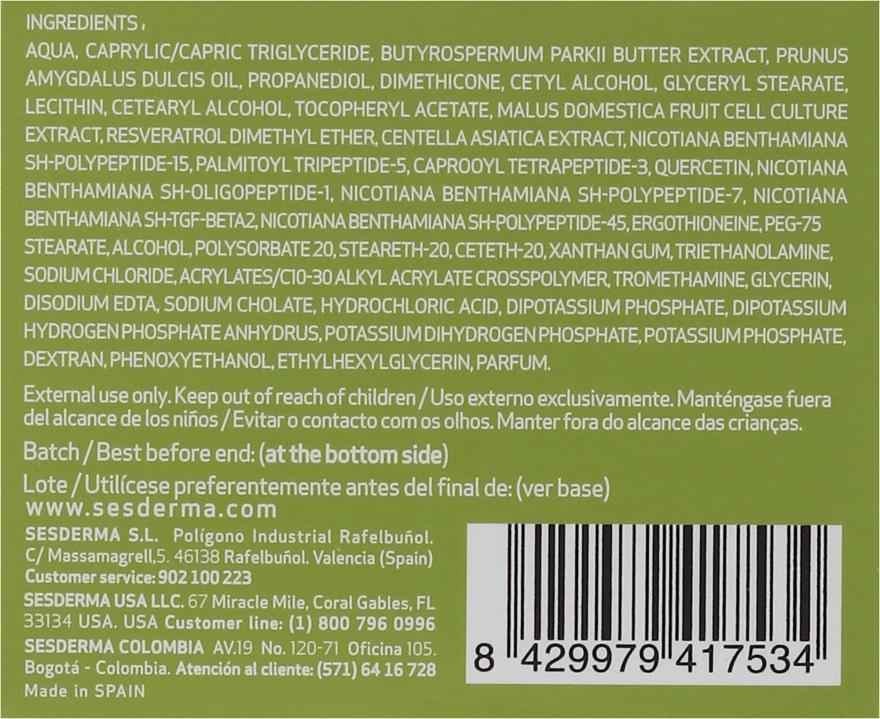 Regenerierende Anti-Aging Creme für alle Hauttypen - SesDerma Laboratories Factor G Anti-Aging Regenerating Facial Cream — Bild N3