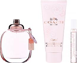 Düfte, Parfümerie und Kosmetik Coach Coach Floral - Duftset (Eau de Parfum 90ml + Eau de Parfum 7.5ml + Körpermilch 100ml)