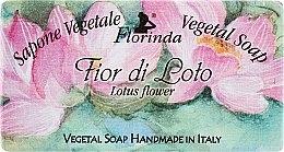 Düfte, Parfümerie und Kosmetik Naturseife Lotosblume - Florinda Sapone Vegetale Vegetal Soap Lotus Flower
