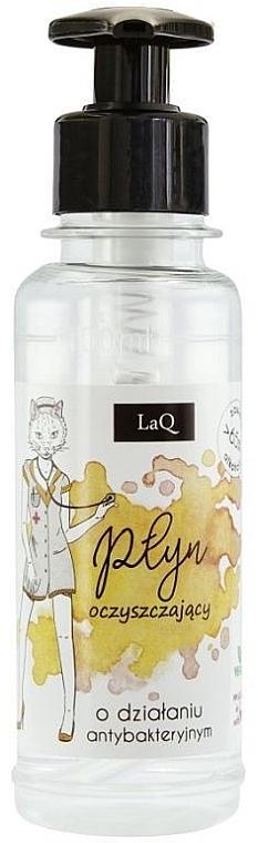 Antibakterielle Reinigungsflüssigkeit mit 65% Alkohol - LaQ Antibacterial Cleansing Liquid 65% Alcohol