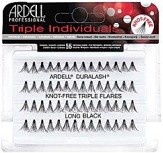 Düfte, Parfümerie und Kosmetik Wimpernbüschel-Set - Ardell Triple Individual Long Black
