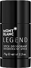 Düfte, Parfümerie und Kosmetik Montblanc Legend Stick - Parfümierter Deostick