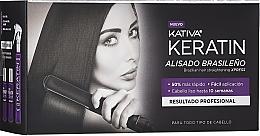 Düfte, Parfümerie und Kosmetik Haarpflegeset - Kativa Keratin (Shampoo 35ml + Conditioner 35ml + Haarmask 100ml)