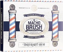 Düfte, Parfümerie und Kosmetik Bartbürste oval - Macho Beard Company Macho Brush