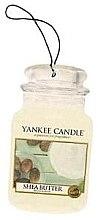 Düfte, Parfümerie und Kosmetik Auto-Lufterfrischer Shea Butter - Yankee Candle Shea Butter Car Jar Ultimate