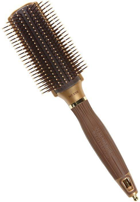 Haarbürste - Olivia Garden Nano Thermic Ceramic + ion S9R Brush — Bild N1