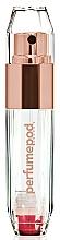 Düfte, Parfümerie und Kosmetik Nachfüllbarer Parfümzerstäuber transparent-Rosegold - Travalo Perfume Pod Crystal Rose