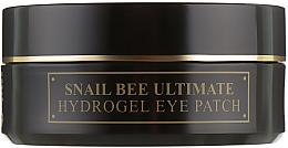 Düfte, Parfümerie und Kosmetik Hydrogel-Augenpatches mit Schneckenmucin und Bienengift - Benton Snail Bee Ultimate Hydrogel Eye Patch