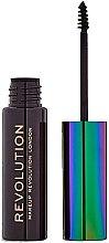 Düfte, Parfümerie und Kosmetik Augenbrauengel - Makeup Revolution Brow Mascara With Cannabis Sativa