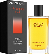 Düfte, Parfümerie und Kosmetik Christopher Dark Action Black - Eau de Toilette