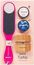 Düfte, Parfümerie und Kosmetik Hand- und Fußpflegeset - MiaCalnea Oakis Set (Handcreme 50ml + Fußcreme 50ml + Fußfeile + Telefonständer)