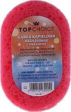 Düfte, Parfümerie und Kosmetik Badeschwamm 30451, pink-gelb - Top Choice