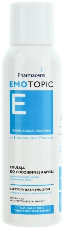 Badeemulsion für trockene und atopische Haut - Pharmaceris E Emotopic Everyday Bath Emulsion — Bild N1