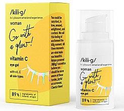 Düfte, Parfümerie und Kosmetik Augenkonturgel mit Vitamin C - Kili·g Woman Eye Gel