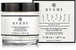 Düfte, Parfümerie und Kosmetik Beruhigende und schützende Tagescreme für das Gesicht mit Ceramiden SPF 20 - Avant Skincare Ceramides SPF20 Soothing and Protective Day Cream