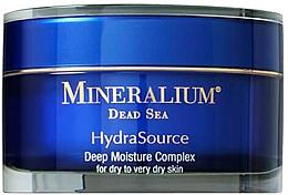Düfte, Parfümerie und Kosmetik Tief feuchtigkeitsspendende Gesichtscreme für trockene bis sehr trockene Haut - Mineralium Hydra Source Deep Moisture Complex