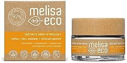 Düfte, Parfümerie und Kosmetik Nährende Gesichtscreme mit Lifting-Effekt - Melisa Eco