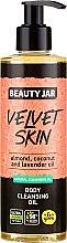 Düfte, Parfümerie und Kosmetik Körperreinigungsöl mit Mandel-, Kokos- und Lavendelöl - Beauty Jar Velvet Skin Body Cleansing Oil