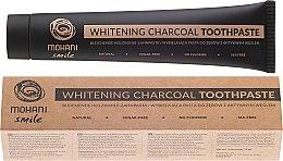 Düfte, Parfümerie und Kosmetik Natürliche bleichende Holzkohle-Zahnpasta - Mohani Smile Whitening Charcoal Toothpaste