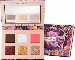Düfte, Parfümerie und Kosmetik Lidschattenpalette - Nabla Cutie Collection Palette Metropolitan